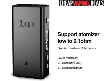 Cloupor Mini Plus 50W TC APV Box Mod