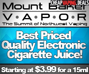 Mount Baker Vapor Coupon