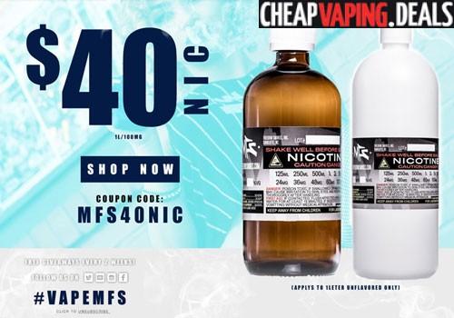 One Liter Of Nicotine E-Liquid Base $40 - Cheap Vaping Deals