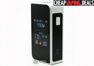 USA Blowout: Sigelei T150 Touch Screen Box Mod $28.80