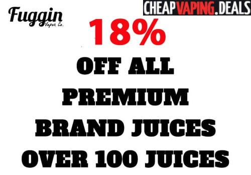 Fuggin vapor coupon code