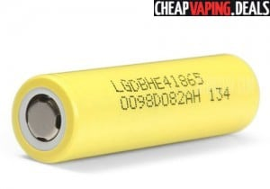 US Shipper: 2 x LG HE4 18650 35A Batteries $9.00
