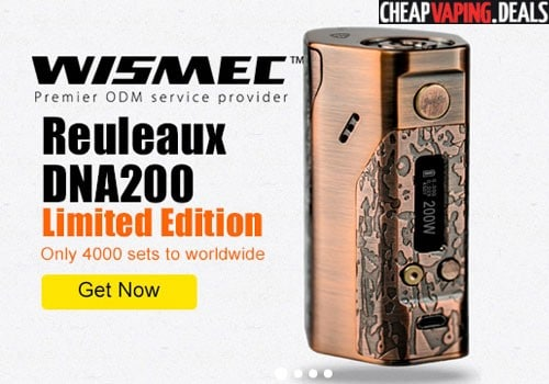 wismec reuleaux dna 250 bronze edition box mod 68 20 fs us