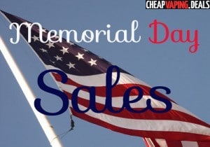 Memorial Day 2017 Vape Store Sales