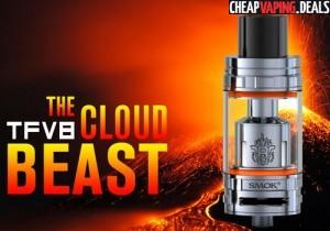 Smok TFV8 Cloud Beast Tank $24.99