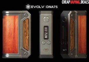 Lost Vape Therion DNA75 Box Mod $89.99