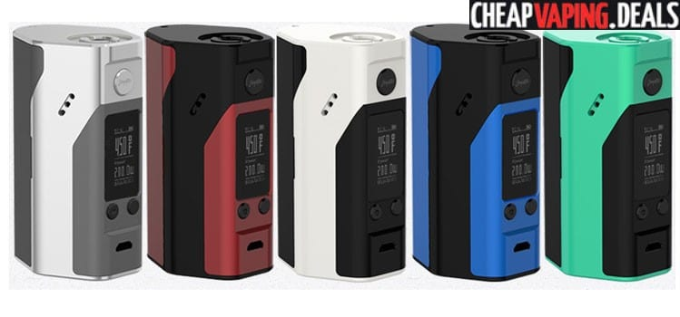 Blowout: Reuleaux RX200S 200W TC Box Mod $30.76 & Free Shipping
