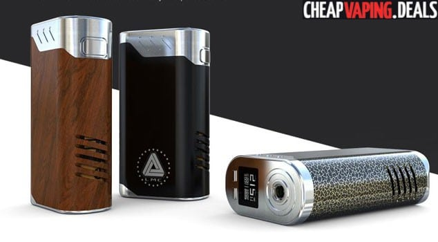 US Store: Ijoy Limitless Lux 215W Box Mod w/ Two 26650 Batteries Included $59.99