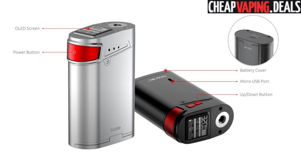 Smok G320 Marshal Box Mod