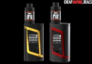 US Shipper Blowout: Smok Alien 220W Box Mod $38.50 / Kit $49.00