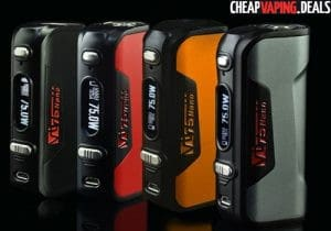 Blowout: HCigar VT75 Nano DNA 75 Box Mod $50.88 & Free Shipping