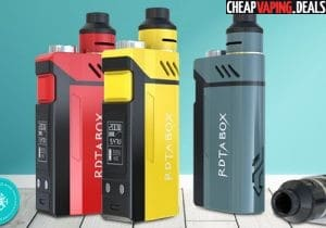 Blowout: Ijoy RDTA Box 200W TC Kit $38.99 & Free Shipping