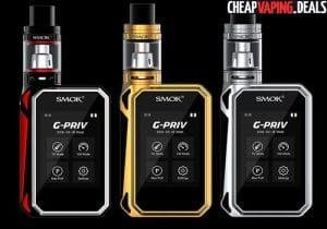 US Shipper: SMOK G-Priv 220W Touch Screen Box Mod $54.99