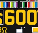 12 display font colors