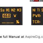 TCR memory slots