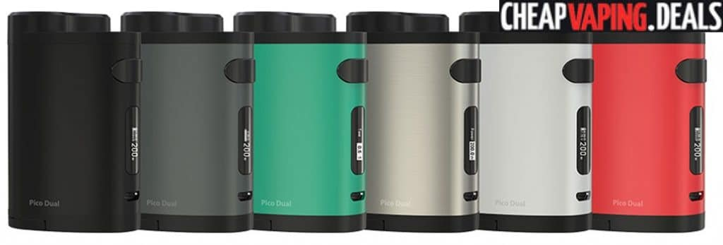Eleaf Istick Pico Dual 200W Box Mod $26.32 / Kit $37.66 & Free Shipping