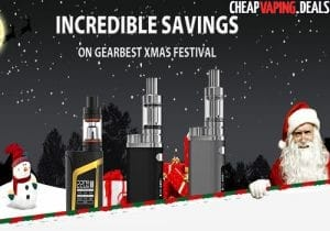 Gearbest Christmas Sale: Up To 70% Off & 15% Off Joyetech