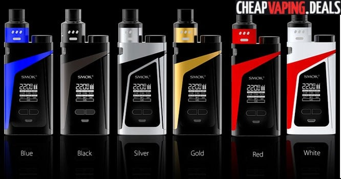 Smok Skyhook 220W RDTA Box Mod Kit $38.99 & Free Shipping