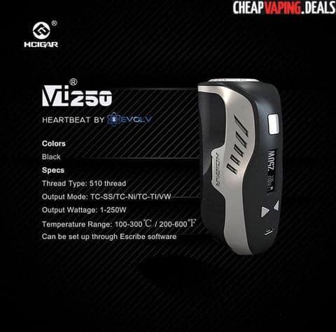 vt250-specs