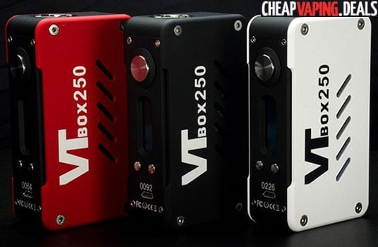 Vapecige VTBox250 DNA 250 Box Mod $107.99