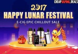 Gearbest Lunar Festival Sale & E-Liquid Promotion