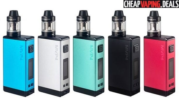 Blowout: Innokin MVP4 100W Box Mod Kit w/ Scion Tank $16.93