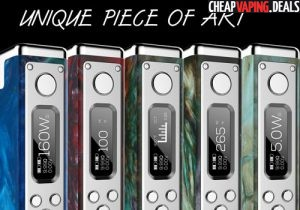 Restocked: Revenant Vapes Cartel 160 Resin Box Mod $134.99 & Free US Shipping