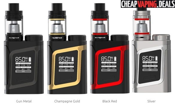 Smok Alien AL85 Box Mod Kit w/ TFV8 Baby Tank $39 89 - Cheap