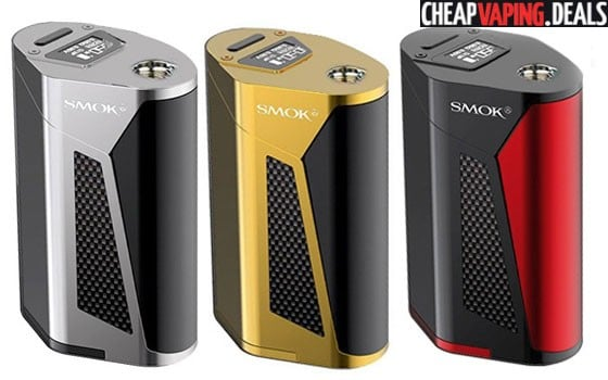 US Shipper: Smok GX350 350W Box Mod $69.99 / TFV8 Kit $80.99 & Free Shipping