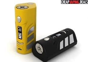 Hcigar VT250S DNA 250 167W/250W Box Mod $109.99 & Free Shipping