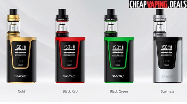 US Shipper Blowout: Smok G150 150W Box Mod Kit $42.99