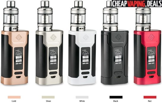 US Shipper: Wismec Predator 228W Box Mod $40.49 / Kit $54.00