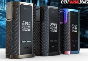 US Shipper Blowout: Ijoy Captain PD270 234W Box Mod $49.99 (Batteries Included)