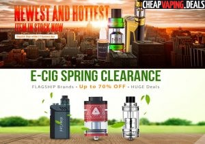 Gearbest: New Atomizers Sale &  New Arrivals Sale  & Up To 70% Off Spring Clearance
