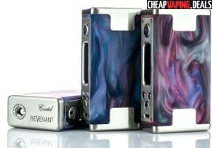 US Shipper: Revenant Vapes Cartel 160 Resin Box Mod $89.99 & Free Shipping