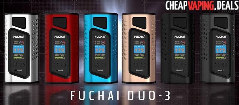 US Store: Sigelei Fuchai Duo-3 175W/255W Box Mod $32.95