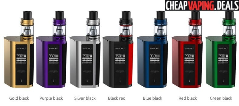 US Shipper: Smok GX2/4 350W Box Mod Kit $54.90 & Free Shipping