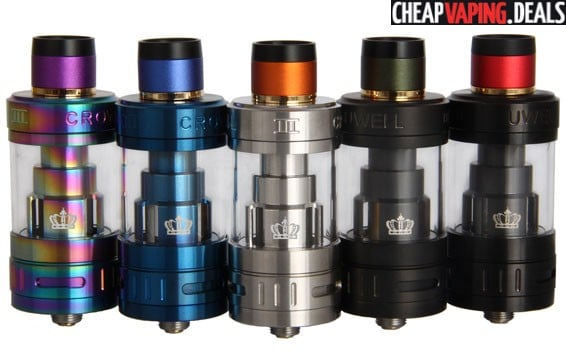 Restocked - US Shipper: Uwell Crown 3 Tank $20.25