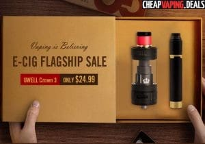 Gearbest: E-Cig Flagship Sale
