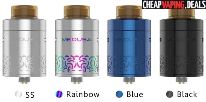 Geekvape Medusa Reborn RDTA $20.50 & Free Shipping