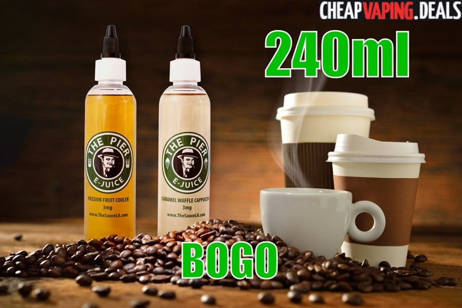 TheSauceLA: 240ml Pier E-Liquid $15.00