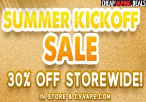 CSVape: 30% Off Sitewide
