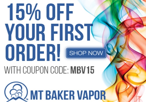 About Mt Baker Vapor. At Mt Baker Vapor, you'll find personal vaping and electronic cigarette gear from top brands like Baker Vapor, Aspire, and Infinite. And with our Mt Baker Vapor coupon codes, you can shop with the confidence that you're getting the very best price.
