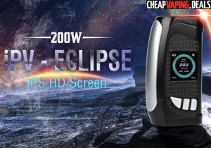 Pioneer4You IPV Eclipse 200W Box Mod $79.99 & Free Shipping