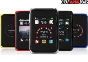 Joyetech Cuboid Pro 200W TFT Touch Screen Box Mod $65.50 & Free Shipping