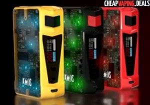 Sigelei Kaos Z 200W Box Mod $39.30 & Free Shipping