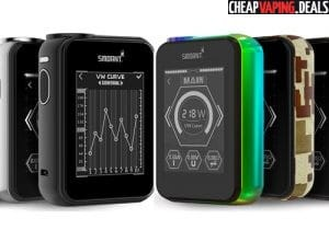 Blowout: Smoant Charon TS 218 218W Touch Screen Box Mod $59.59 & Free Shipping