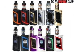 US Store: Smok Alien 220W Box Mod Kit w/ TFV8 Baby $41.61