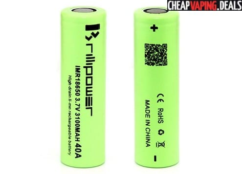 US Store: Brillipower 18650 3100mAh 40A Battery $6.99