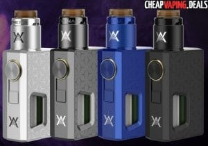 Geekvape Athena Squonk Box Mod $22.99 / Kit with BF RDA $48.99